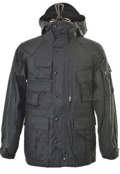 Engineered Garments Field Parka Coated - Dark Navy