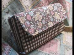 長財布作ってみた 縁どりしない簡単な作り方 Making a Handmade Wallet & How to Make a Fabric Wallet Purse Wallet, Pouch, Fabric Wallet, Handmade Wallets, Wallet Tutorial, Handbag Patterns, Photo Tutorial, Handicraft, Home Crafts