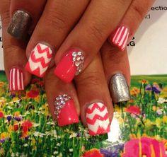 #Cherveron#Sparkles#Stripes