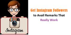 It is everyone's expectation to #get #instagram #followers who will not only follow the account, but also will interact directly and meaningfully.  http://www.igpanel.com/get-instagram-followers-to-avail-remarks-that-really-work/