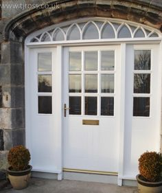 Real Curve Appeal!  Bespoke Entrance Doors, Front door, curved headed door, double front entrance door