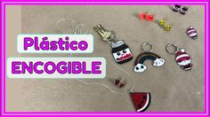 IDEAS CON PLÁSTICO MÁGICO - PLÁSTICO ENCOGIBLE (RESEÑA)  Mira cómo me fue experimentando con este plástico. Y mira lo fácil que es crear tus propios aretes, dijes, pins y llaveros! ;) Ideas Paso A Paso, Personalized Items, Friends, Create, How To Make, Upcycling, Keychains, Stud Earrings, Amigos