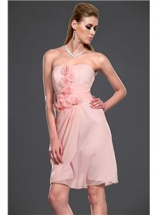 Fabulous  A-Line Sweetheart Flowers Charming Cocktail Dress
