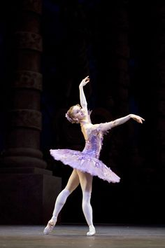 """Marianela Nunez as The Lilac Fairy in """"The Sleeping Beauty"""" (Royal Ballet). Photo by Johan Persson"""