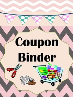 Have children and students of all ages learn the value of saving money by using coupons. This binder system could save your family hundreds of dollars. Included are activities kids can do to help their families out. Lifelong lessons can be learned as kids learn the power of coupons and saving money. Happy Saving! #coupons  #TPT #savemoney