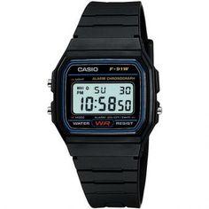 Reloj Casio Retro Digital F 91w 1 Chino Garantia ...
