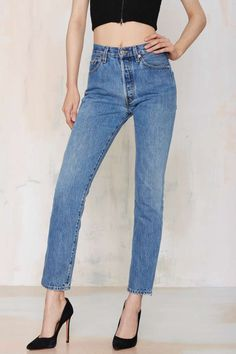 After Party Vintage Levi's 501 Jeans   Shop Clothes at Nasty Gal!