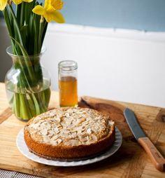 buttery honey cake