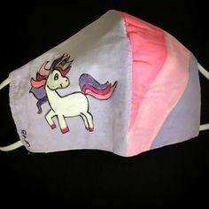 """@evavial on Instagram: """"#wearamask #handpainted #unicorn"""" Mask Painting, Masks, Unicorn, Hand Painted, How To Wear, Instagram, A Unicorn, Unicorns"""