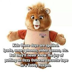 Rock out Teddy Ruxpin