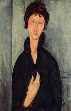 Woman With Blue Eyes, 1919
