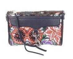 Rebecca Minkoff Mini MAC Clutch Crossbody Bag, Colorful Mexi Flower