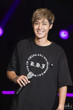 Kim Hyun Joong 김현중 ♡ World Tour 2014 ♡ Kpop ♡ Kdrama ♡ he has the best smile ^^