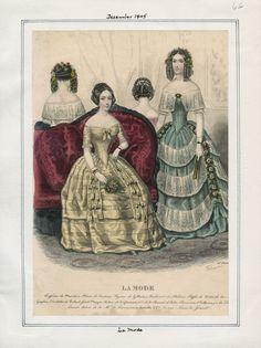 La Mode December 1845 LAPL
