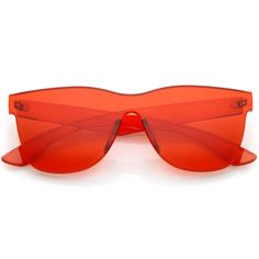 1ee6fac6b93 Retro Modern Rimless Horned Rim Mono Block PC Sunglasses C463