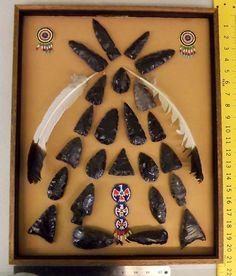 framed arrowheads