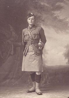 Lieutenant Thomas Arthur Letters, 2nd Gordon Highlanders, KIA.