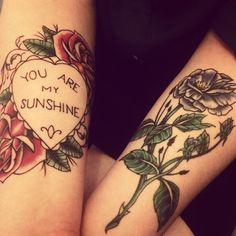 """You Are My Sunshine"" Tattoo"