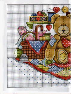 Gallery.ru / Фото #116 - Cross Stitch Teddies - KIM-2