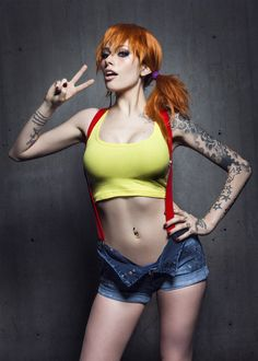 Inked Girls - when I get hot, I know what my first Halloween costume will be