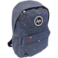 Hype bag (Splatter Primary) Grey   Multi  FBA2 Hype Blue speckle logo back e76376f95cfa0