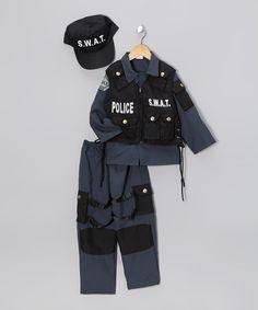 Love this Black SWAT Police Dress-Up Set - Toddler & Kids by Dress Up America on #zulily! #zulilyfinds