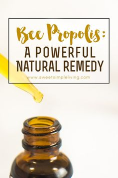 Bee Propolis- Powerful Natural Remedy!
