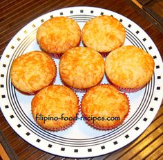Filipino Cheese Cupcakes...