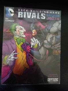 DC Comics Batman vs Joker Rivals Deck building Game,Brand New Sealed! Building Games, Building A Deck, Uno Card Game, Card Games, Metropolis Comic, Tabs Game, Joker Brand, Return Of The Joker, Joker Dc Comics