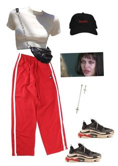 """""""Really?!"""" by beeby-doll ❤ liked on Polyvore featuring Balenciaga"""