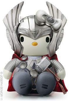 Thor Hello Kitty.