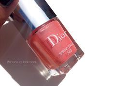 The Beauty Look Book: Dior Spring Ball 343 Vernis Nail Lacquer, Addict Lipstick and Addict Gloss