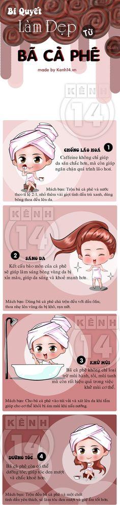 CHĂM SÓC DA - Làm đẹp làn da với bí quyết từ bã cà phê - Kenh14.vn