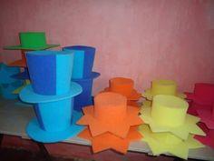 Nuestros sombreros de goma espuma!!! -cotillón- 1