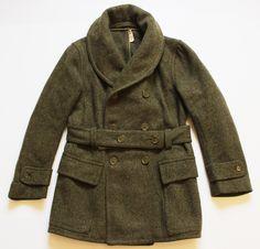 40's Men's Vintage, Vintage Labels, Don Draper, Blanket Coat, Men's Outerwear, Fashion Outfits, Mens Fashion, Military Fashion, Mens Clothing Styles