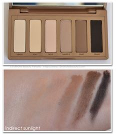 Urban Decay Naked Basics: Review, Swatches and a tutorial!