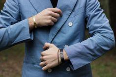 Man with a blazer.