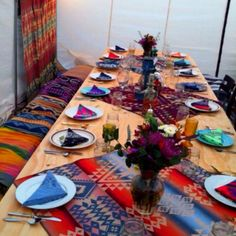 Our homemade Pendleton thanksgiving party!
