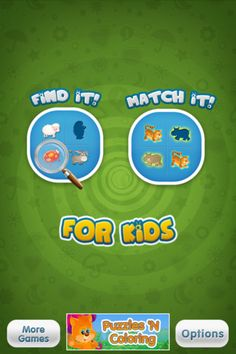 Match It - Find It for Kids is a great game that will develop the visual skills and sense of observation of students. Also it will develop memory skills.