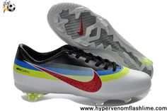 Buy Discount CR Exclusive Nike Mercurials Nike Mercurial Vapor IX CR white black red Soccer Boots On Sale