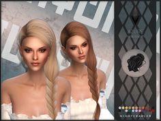The Sims 4 mody do gry: Nightcrawler-Azure fryzura The Sims 4 Pc, Sims Four, Sims 4 Tsr, Sims Cc, Sims Stories, Sims 4 Traits, Pelo Sims, The Sims 4 Cabelos, Sims 4 Dresses