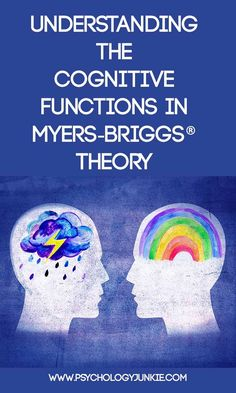 What are the cognitive functions in personality theory? Find out! #MBTI #INFJ #INTJ #INFP #INTP