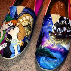 Peter Pan Disney Toms #disney #toms #peterpan
