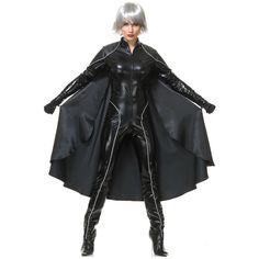Storm Costume Adult Womens Superhero Halloween Fancy Dress #Charades