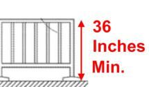 Do You Know Your Stairway Building Code Requirements?: Guard Railing Minimum Height