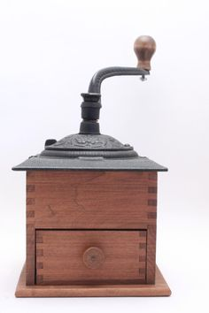 coffee grinder. would love to have one of these to display on my coffee bar!