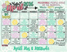 Attitude and Abs Challenge