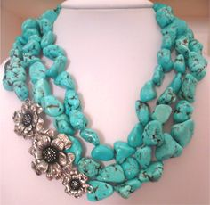 Love this,,,,turquoise