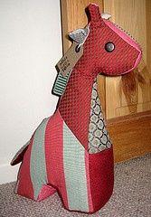 free patterns for giraffe doorstops - Google Search