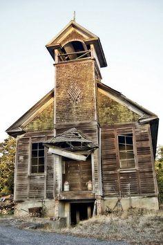 Old School Church - Oregon   Flickr - Photo Sharing!